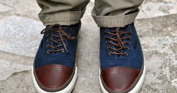 Vans Era Brogue California menswear style footwear brogue Vans
