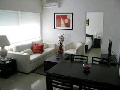 Buenos Ejemplos De Como Decorar Una Sala Pequena Red Home Decor Apartment Decor Home Living Room