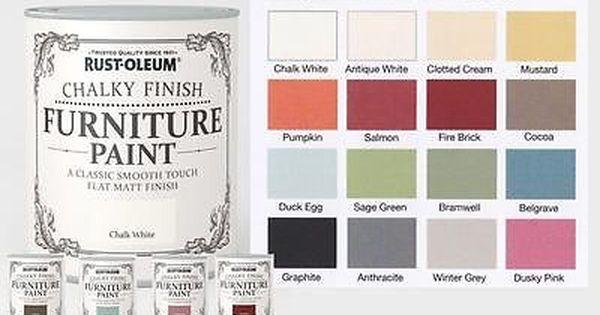 Details About Rust Oleum Chalk Chalky Furniture Paint
