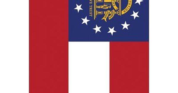 Toland Home Garden Us States Polyester 3 4 X 2 4 Ft House Flag State Georgia U S States Us States Flags