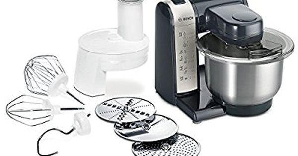 Amazonde Bosch MUM48A1 Küchenmaschine MUM4 (600 Watt, 39 Liter - küchenmaschine bosch mum