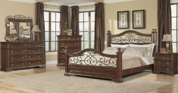 Arcadian 4 Piece King Bedroom Set From Huffman Koos