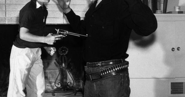 Dennis Dillon Dodge >> James Arness with son Craig. This is real life cowboy livin'. | Gunsmoke | Pinterest | Our kids ...