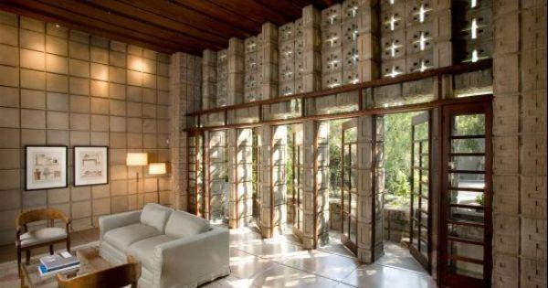 "PHOTOS: Frank Lloyd Wright-Designed ""Millard House"" At $4"