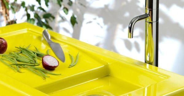 Spotlight On Lava Stone Countertops Yellow Kitchen Decor