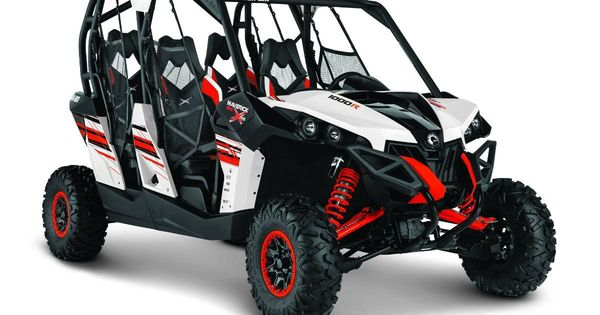 Can Am Maverick Max 1000r X Rs Dps White Black Red