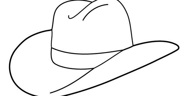 Free Cowboy boot outline | Folioglyphs: Cowboy Hat ...