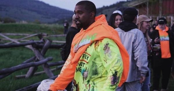 Yeezy Wes Lang Wyoming L S Tee Frozen Yellow Dripnfit Kanye West Kanye Wyoming Travel Road Trips