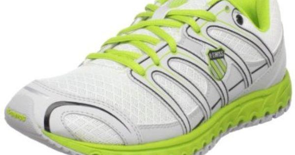 K Swiss Women`s Micro Tubes 100 Fit W Running Shoe,White