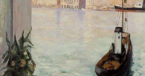 Henri manguin fen tre ouverte sur le vieux port for Toile de fenetre