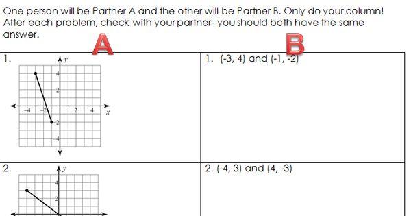 row game midpoint formula geometry pinterest math algebra and school. Black Bedroom Furniture Sets. Home Design Ideas