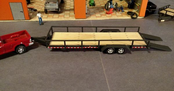 1 64 Custom Trailer Custom Trailers Toy And Diecast