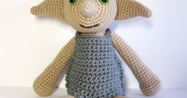 Knitting Pattern For Dobby The House Elf : Dobby USD Pattern Knitting & Spinning Pinterest ...