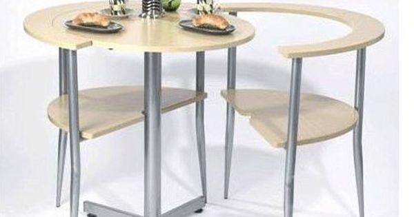Siguiendo con los muebles para espacios reducidos me ha - Mesas para espacios pequenos ...