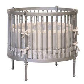 So Adorable Oval Bassinet Crib Round Cribs Cribs Circular Crib