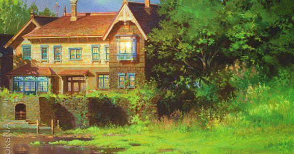 Background Art 思い出のマーニーの背景画 マーニー アニメの風景 スタジオジブリ