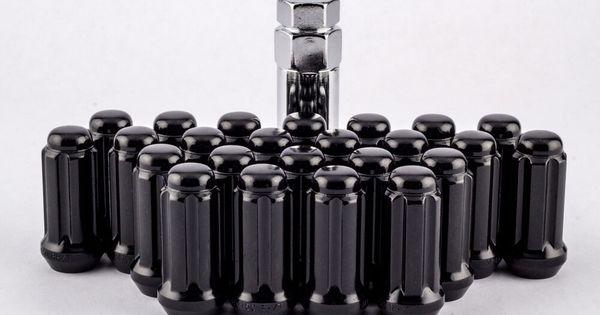 """Set 24 12mm x 1.5 Open End 3//4/"""" Bulge Lug Nuts fits 6 Lug Chevy 12mm W1015B"""