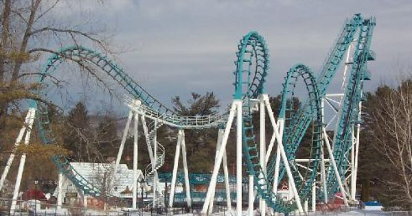 Original Colors Boomerang Coast To Coaster Six Flags Great Escape Ny Lake George The Great Escape Roller Coaster