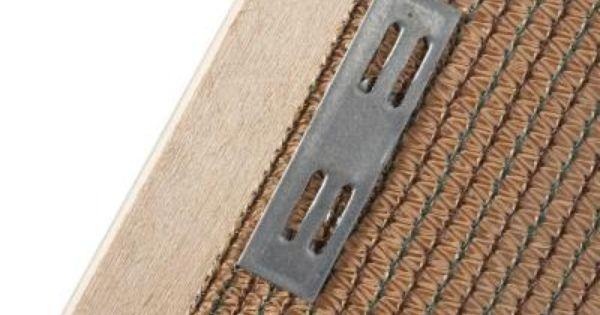 720fb9f527e91489a6719888499d5bd3 - Easy Gardener Shade Fabric Wood Fastener