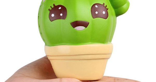1pc Squishies Cactus Scented Squeeze Healing Squishy Slow Rising Soft Stress Relief Toys Phone Straps Keychain Gift Craft Decors Putrimall Squishies Stress Relief Toys Cool Gifts For Kids