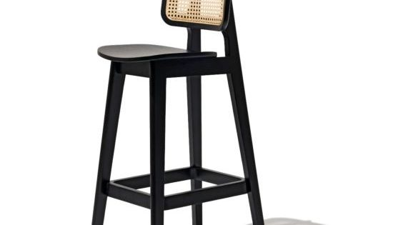 Domino Bar Stool With Images Bar Stools Rattan Bar Stools Vintage Industrial Living Room