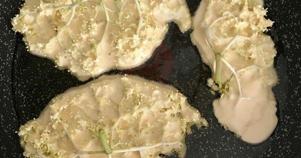 Katerina Kuchnia Kwiaty Czarnego Bzu Smazone W Ciescie Nalesnikowym Food Vegetables Cabbage