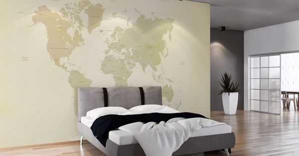 planisph re papier peint panoramique panoramiques d coration murale panoramique deco. Black Bedroom Furniture Sets. Home Design Ideas