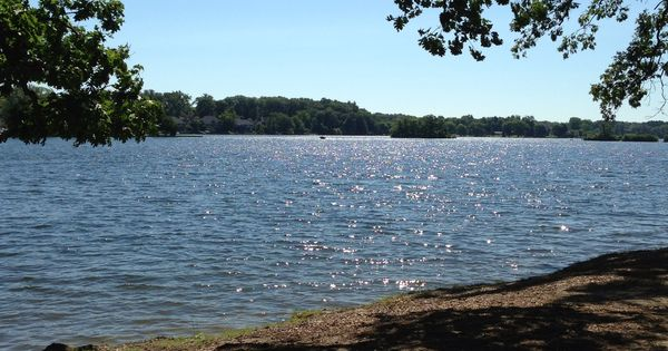 Thompson Lake On A Summer Morning Howell Michigan