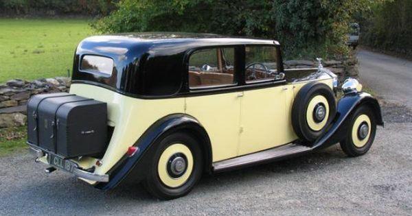 1936 20 25 Sunroof Saloon By Barker Rolls Royce Saloon Toy Car