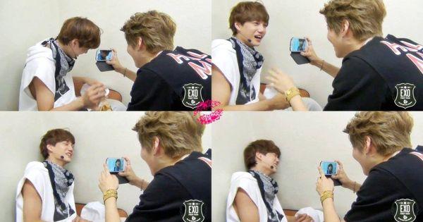 Naughty Taeminnie recording crying Jonginnie