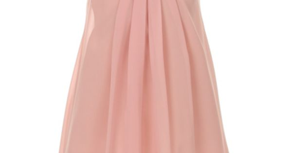 lucy quinn  flower girl dress in dusty rose vintage