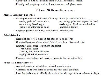 resume sle receptionist or assistant random