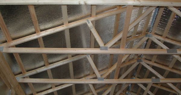 Installation Insulated Barn Roof Google Search Pole Barn Pole
