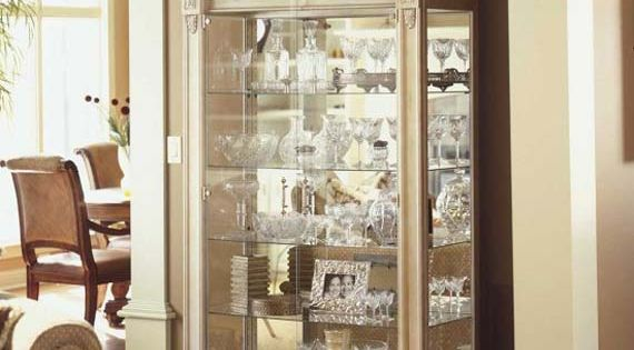 Curio Cabinet Decorating Ideas Modern Curio Cabinet Design Style To Display Your Favorable