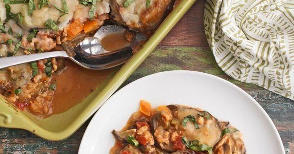 Healthy Moussaka with Gluten Free Béchamel Sauce | Recipe | Moussaka ...
