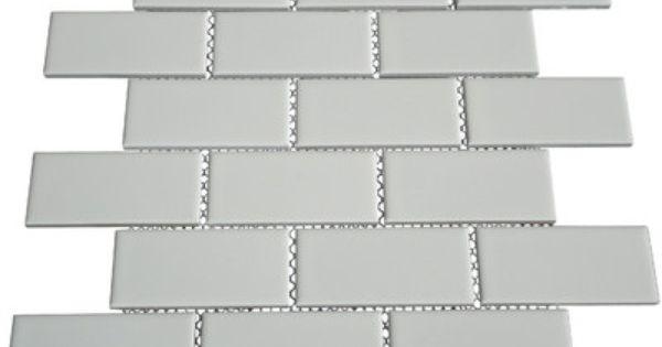 Mulia Tile Classique 2 Quot X 4 Quot Porcelain Subway Tile In