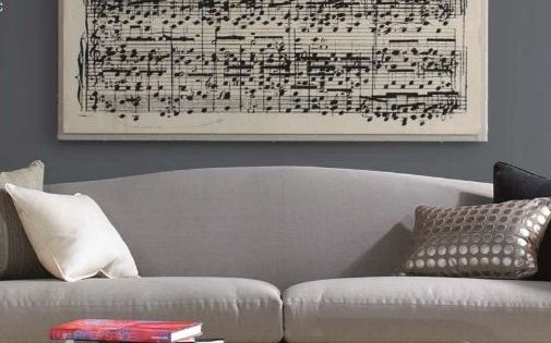 DIY Wall Art - Take your favorite song and create an over-sized