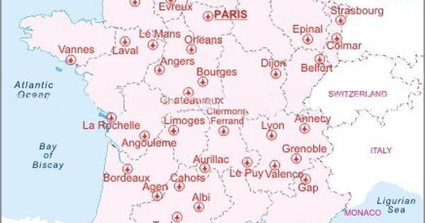 Cartina Aeroporti Francia.Pin Su Da Sapere
