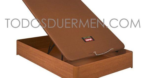 Canap abatible tapizado de pikol n con patas bases y for Canape bases ideas