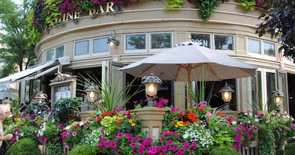 Wine Bar in Niagara-on-the-Lake, Ontario, Canada