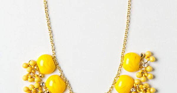 Lemon Zest Confetti Necklace - I wish @Stella Menagia and Dot had