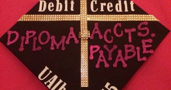 Accounting major graduation cap decoration accountability for Accounting graduation cap decoration