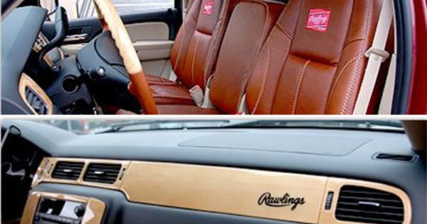 Ford Tuscany Price >> Nice car interior outfitted with Rawlings baseball glove ...