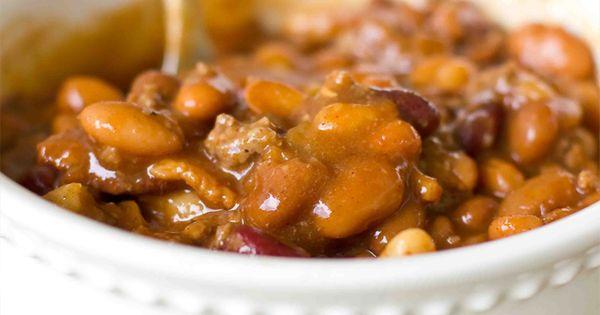 Bbq beans, Beans and Bbq baked beans on Pinterest