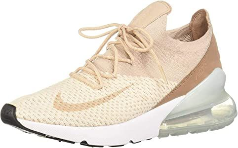 Perca agujero Credencial  Nike Women's Air Max 270 Flyknit Gymnastics Shoes, Pink (Guava Ice/Particle  Beige/Desert Dust 801), 7 UK: Amazon.co.u… in 2020   Gymnastics shoes, Nike  women, Air max women