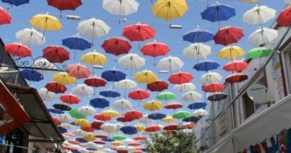 Umbrellas swaying overhead! Discovered by Adrift Anywhere at Antalya, Turkey, Antalya, Turkey