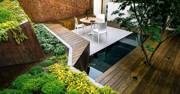 Pin by chris kelz on awesome patios pinterest outdoor spaces francisco d 39 souza and gardens - Gardening for small spaces minimalist ...
