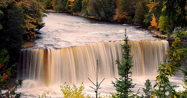 Jim garrett boating upper peninsula and water Cabins near tahquamenon falls