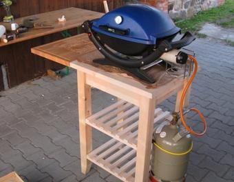 Tisch Fur Meinen Weber Q100 Gasgrill Bbq Stand Grill Table