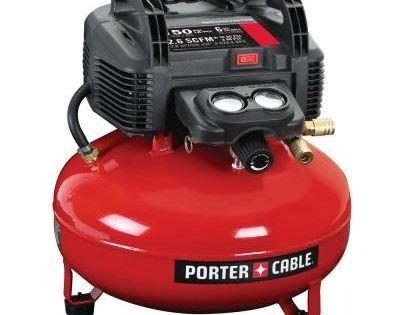 Porter Cable 6 Gal 150 Psi Portable Air Compressor